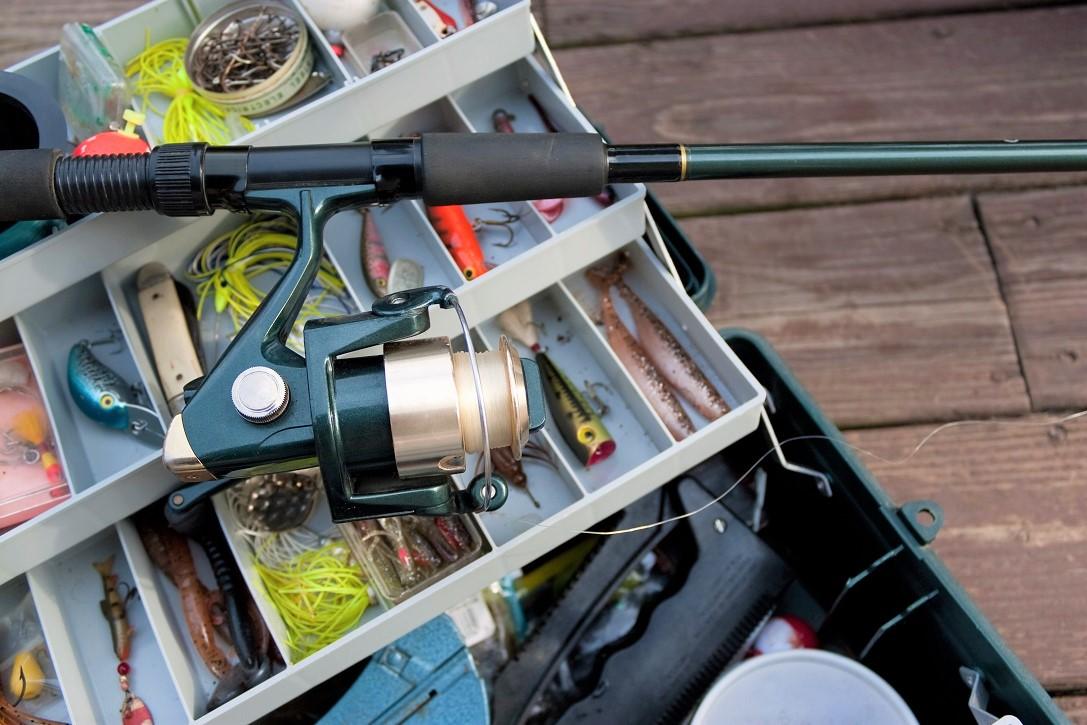 Fishing Rod and Tackle Box